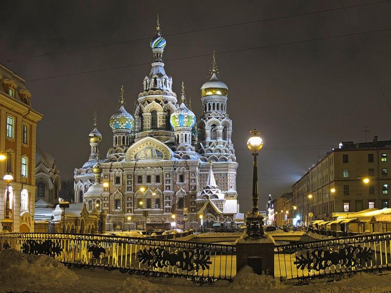 Рождественская сказка в Санкт-Петербурге !